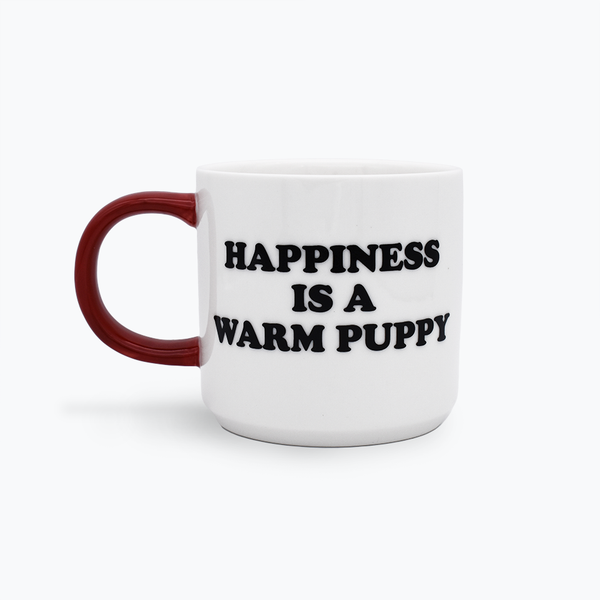 Peanuts 'Happiness is a Warm Puppy' Mug
