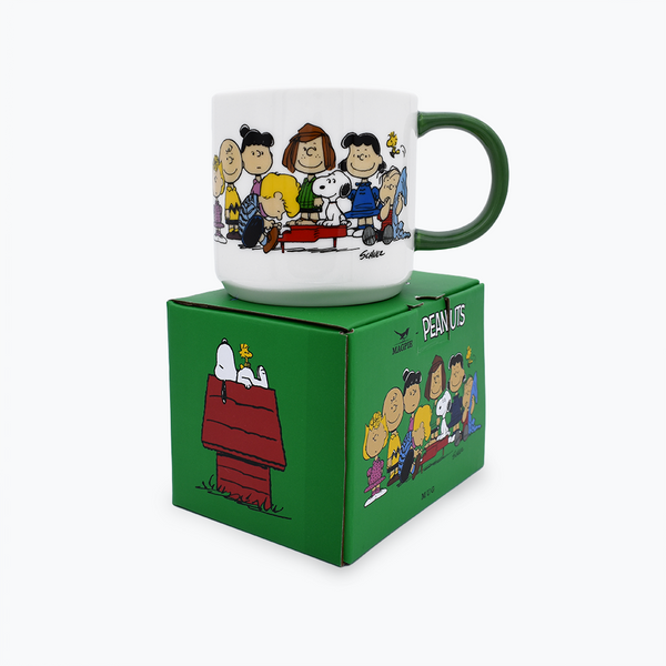 Peanuts 'Gang & House' Mug