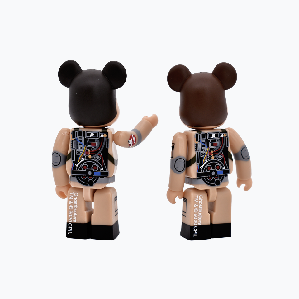 Ghostbusters Be@rbrick 100% Set A
