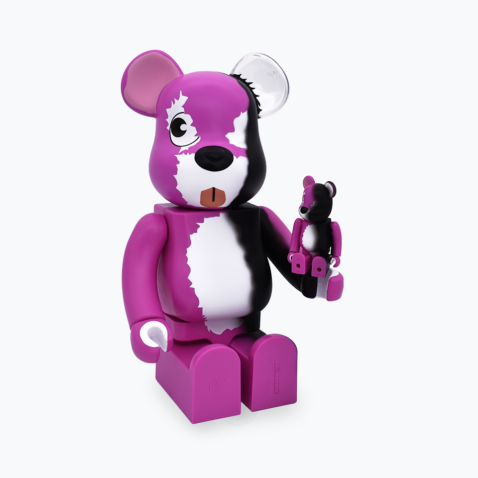 Breaking Bad Pink Bear Be@rbrick 400% & 100%