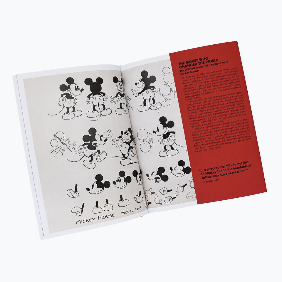 Walt Disney's Mickey Mouse. The Ultimate History – 40th Anniversary Edition