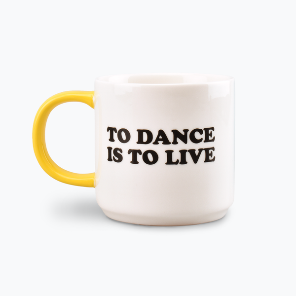 Peanuts 'To Dance Is To Live' Mug