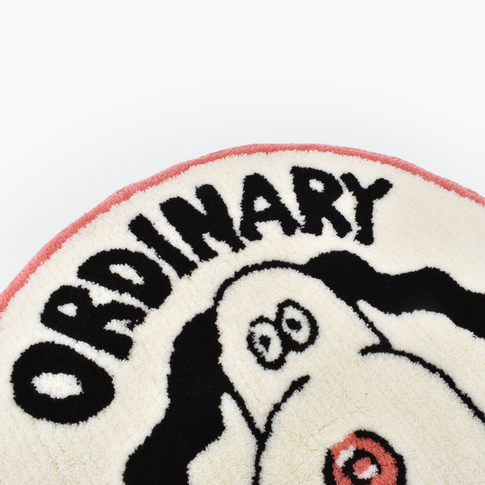 FACE Ordinary Dog Rug (Round)