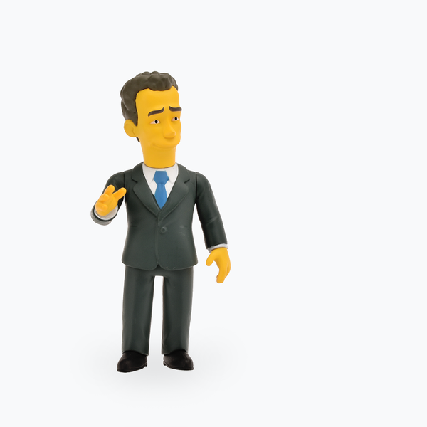 The Simpsons 25th Anniversary Tom Hanks Figure