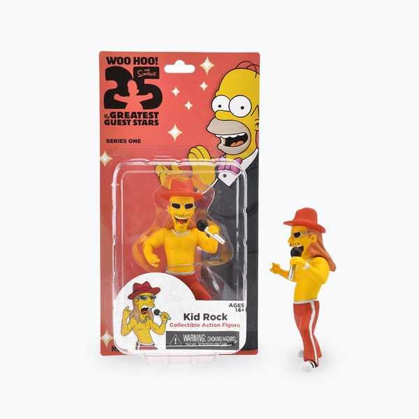 The Simpsons 25th Anniversary Kid Rock Figure