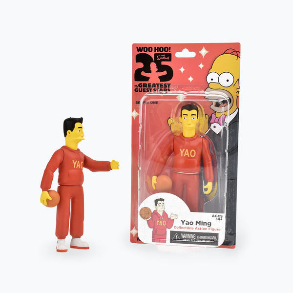 The Simpsons 25th Anniversary Yao Ming Figure