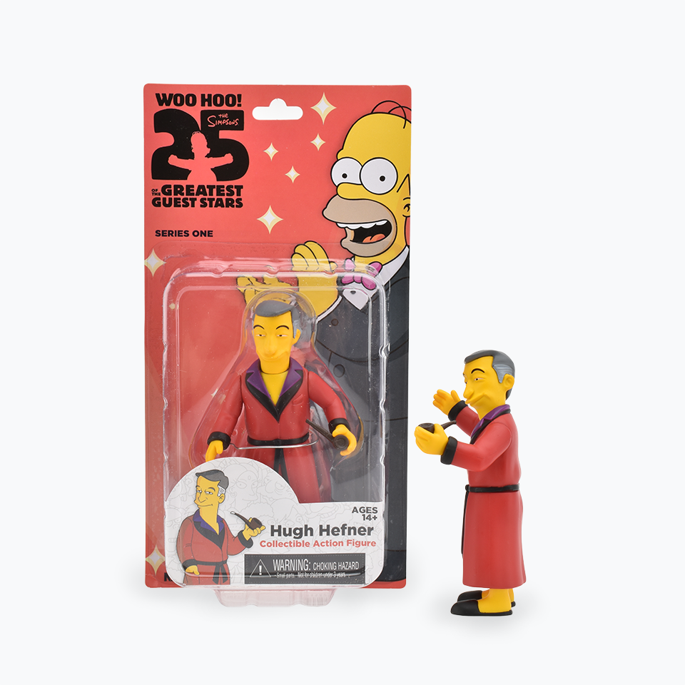 The Simpsons 25th Anniversary Hugh Hefner Figure