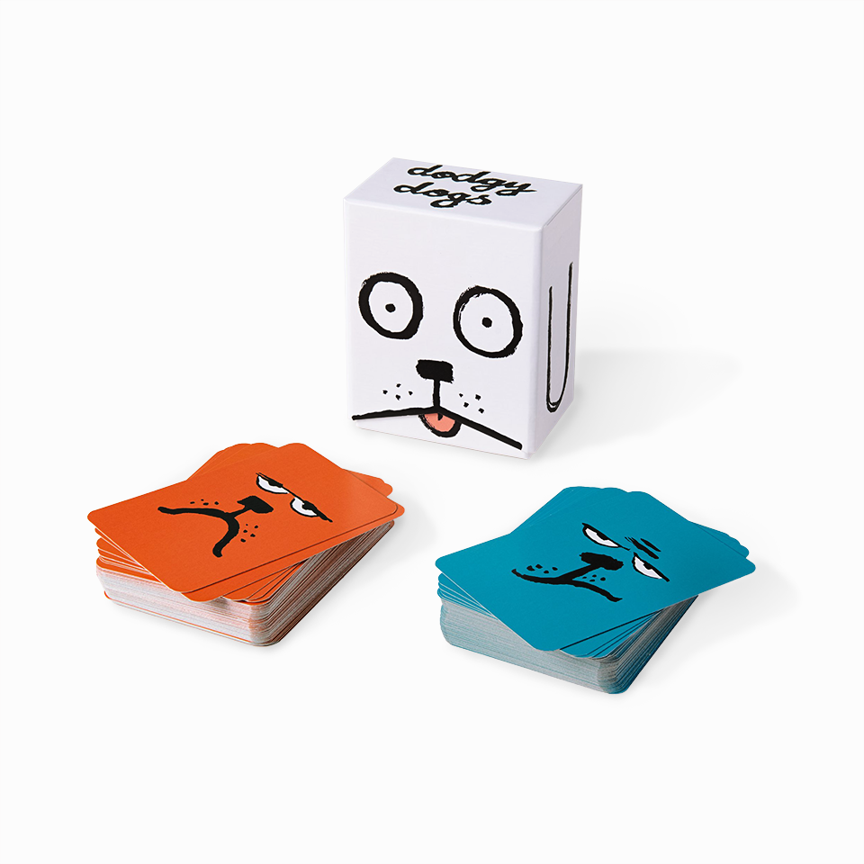 Jean Jullien Dodgy Dogs Twin Pack Card Game
