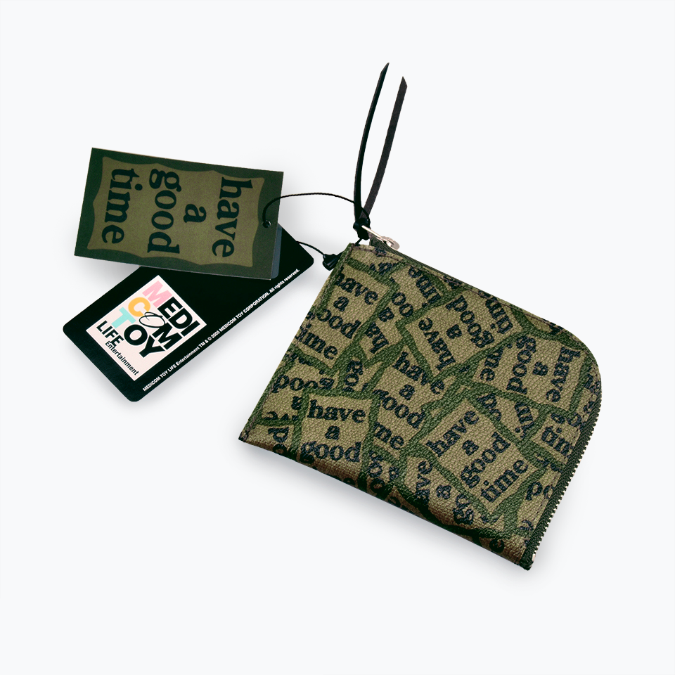 Fabrick x Have a Good Time Zip Wallet