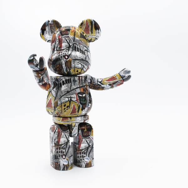 Jean-Michel Basquiat Be@rbrick 200% Superalloy