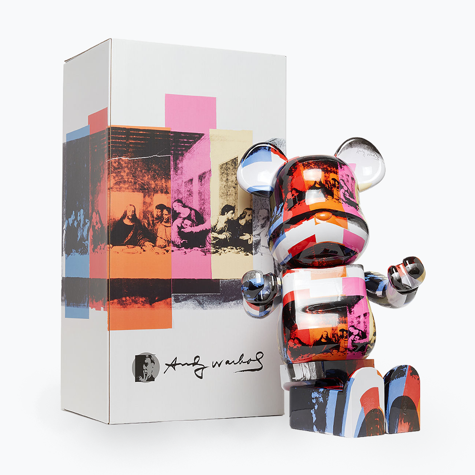 Andy Warhol The Last Supper Be@rbrick 1000%