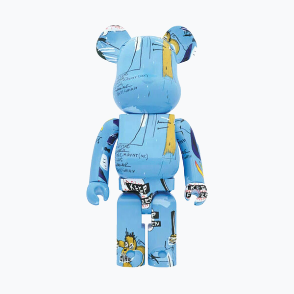 Jean-Michel Basquiat #4 Blue Bearbrick 1000%