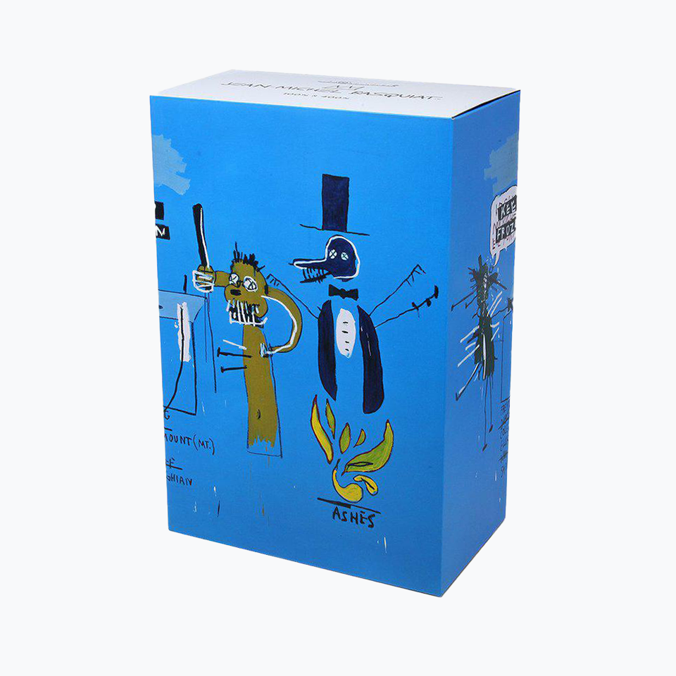 Jean-Michel Basquiat #4 Blue Bearbrick 400% + 100%