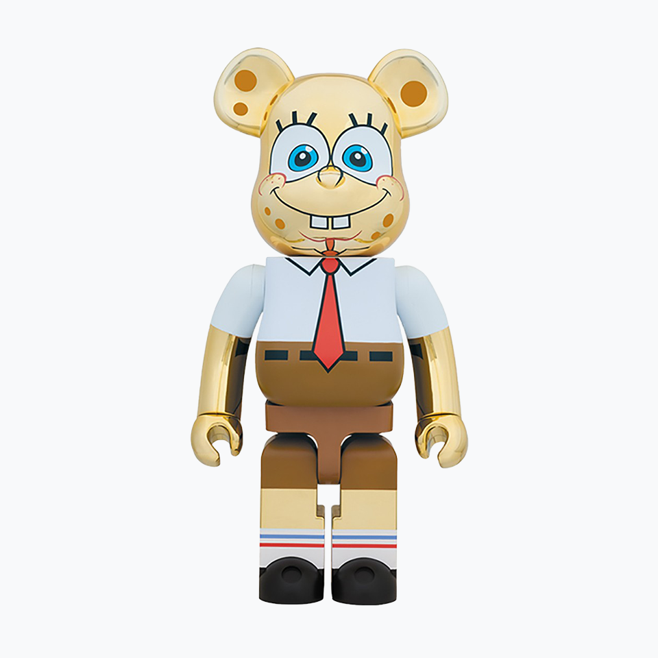 Spongebob Gold Chrome Be@rbrick 1000%
