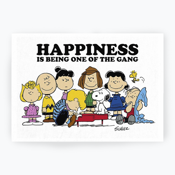 Peanuts 'Gang' Tea Towel