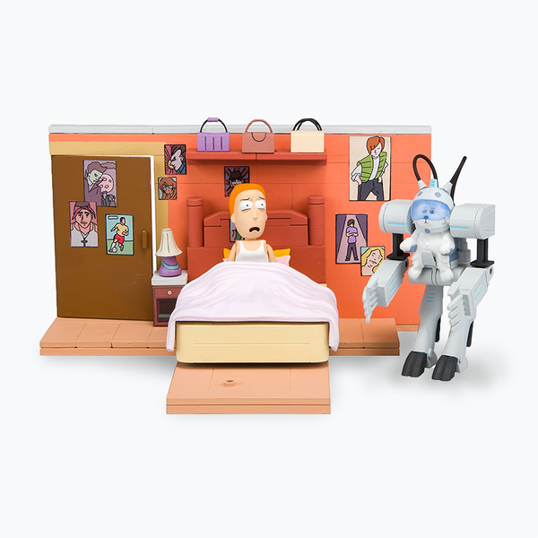 Rick and Morty Medium Construction Set 'You Shall Now Call Me Snowball'