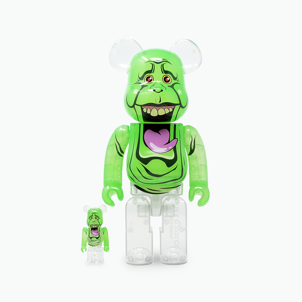 Ghostbusters Slimer Be@rbrick 400% & 100%