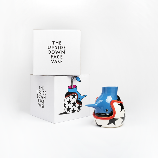 'The Upside Down Face Vase' By Parra