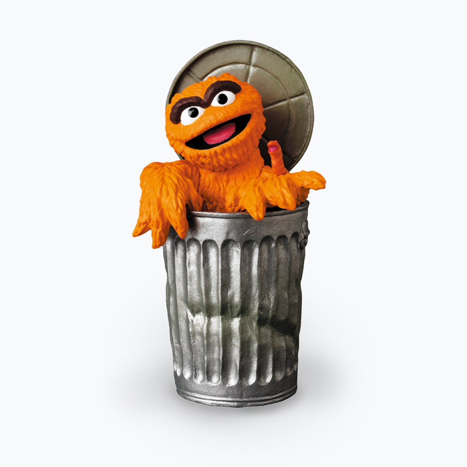 Sesame Street UDF Oscar The Grouch