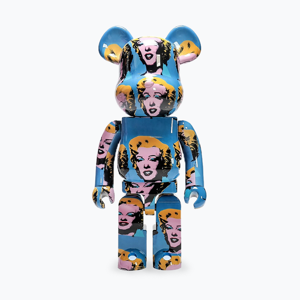 Andy Warhol Marilyn #5 Be@rbrick 1000%