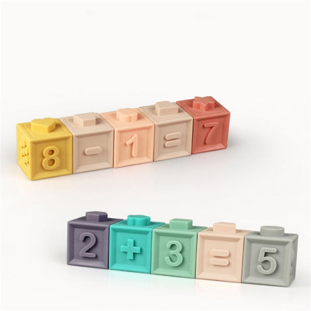 Silicone Educational Building Blocks
