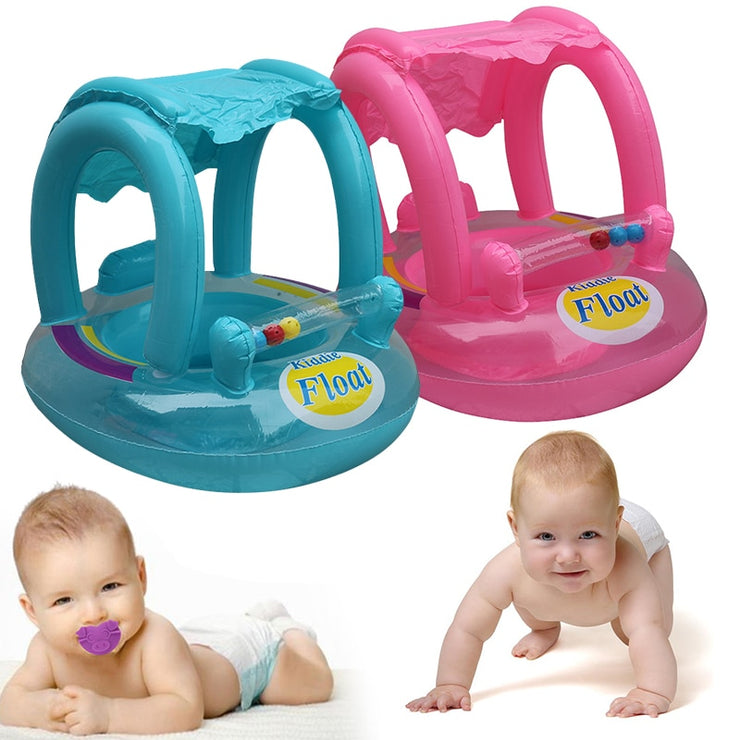Baby Swimming Float with Sunshade