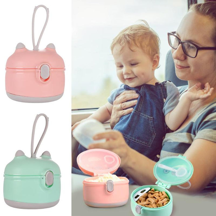 Baby Cereal Food Storage with Spoon