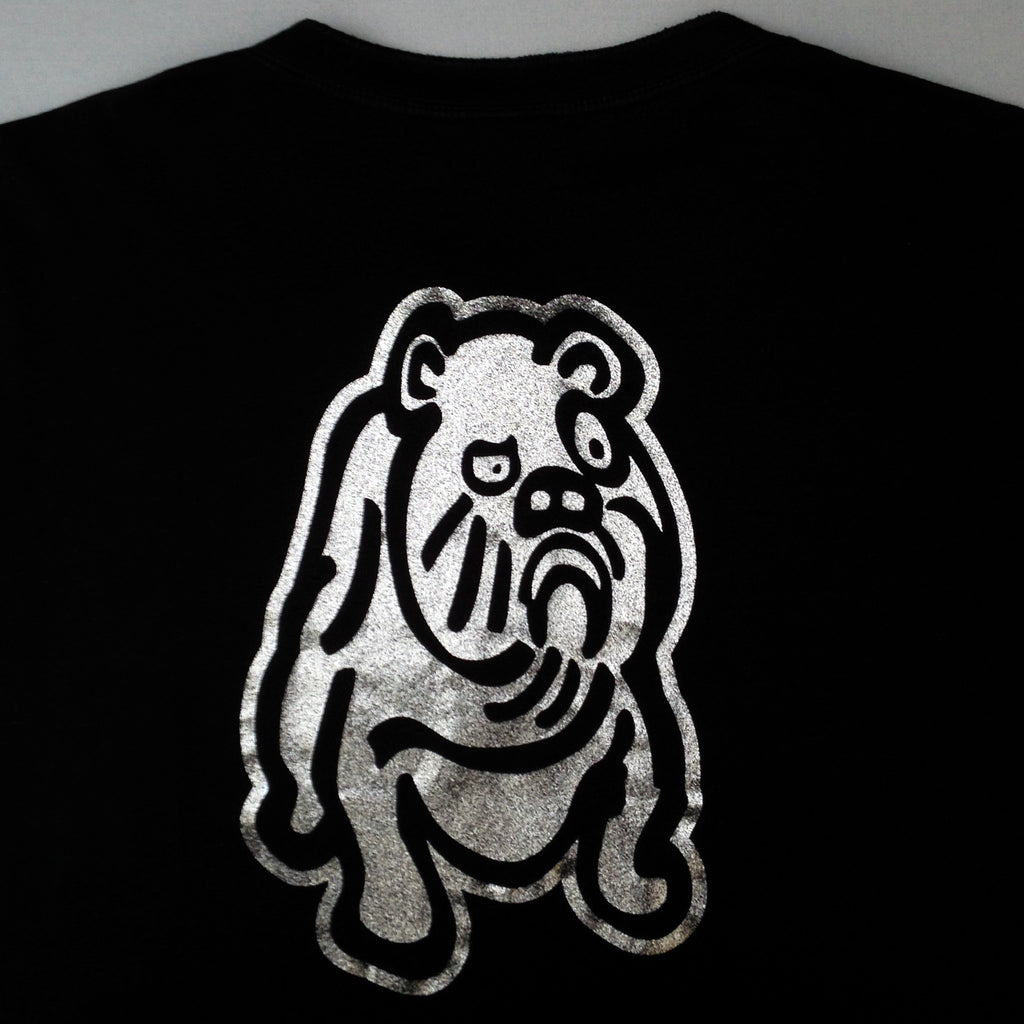 Insane Bulldog henley long sleeve T.