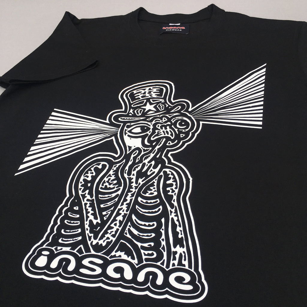 Insane ET Finger Licking Black T Shirt