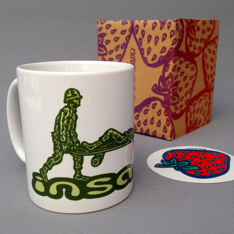 Toy Soldiers ceramic mug