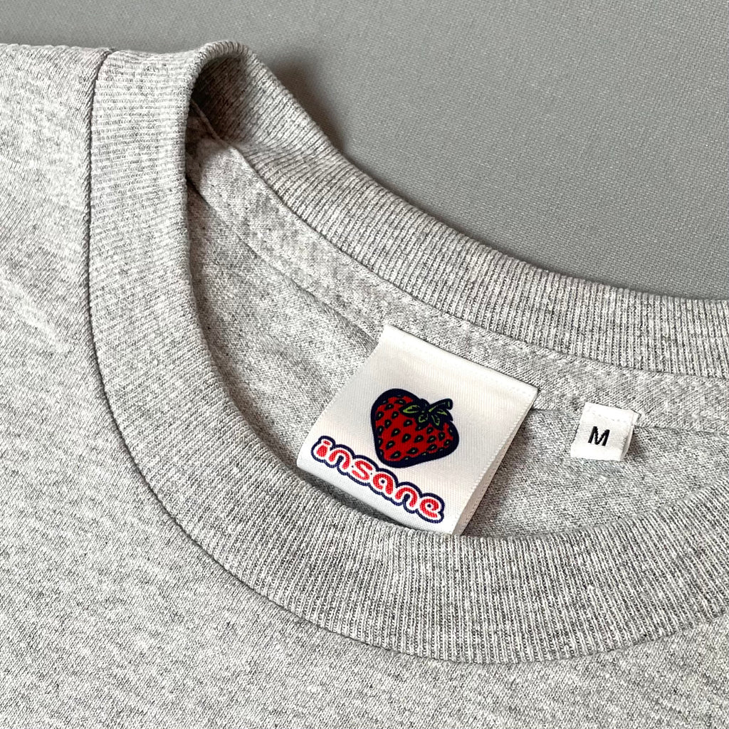 Insane Strawberry Edition Heather Grey T-Shirt
