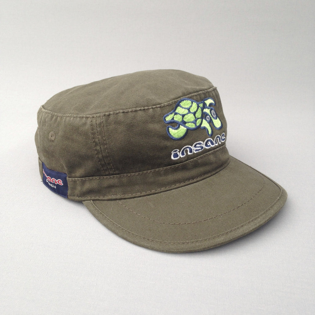Insane Turtle Military Cap