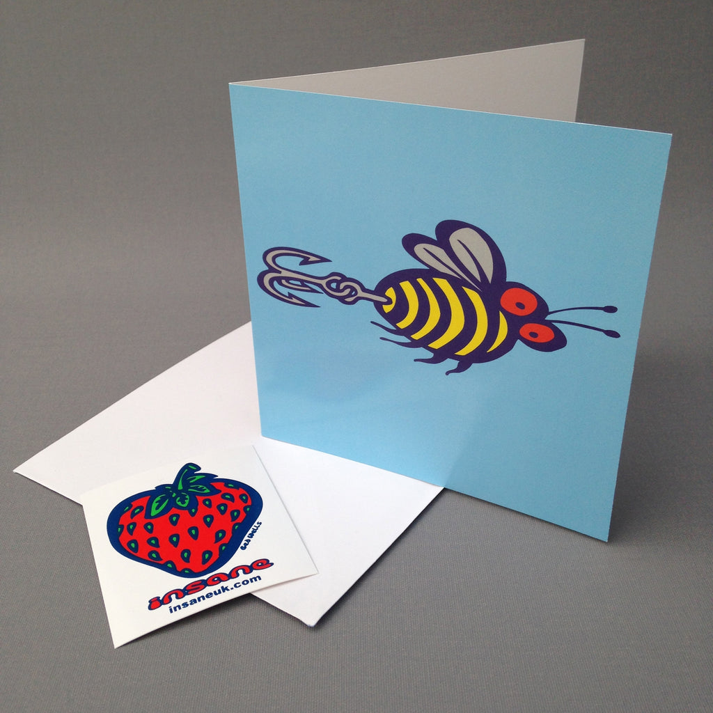 Rebel Without a Hive greetings card.