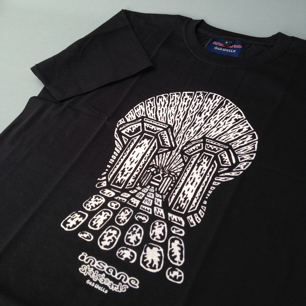 Insane Southbank Skull T Shirt