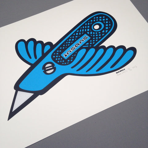 Stanley Bird Screen Print