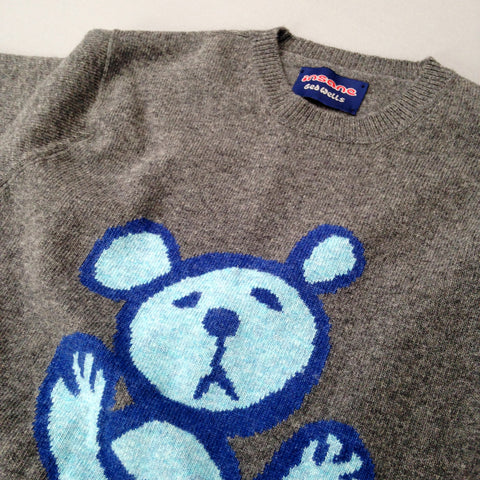 Insane Twisted Teddy Lambswool Jumper.