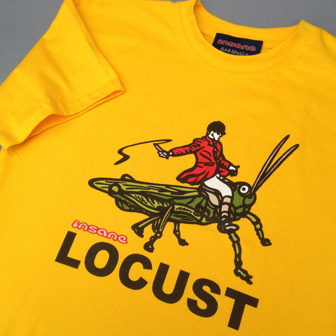 Locust on Sunset Yellow T shirt