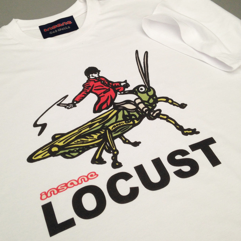 Locust on White T shirt