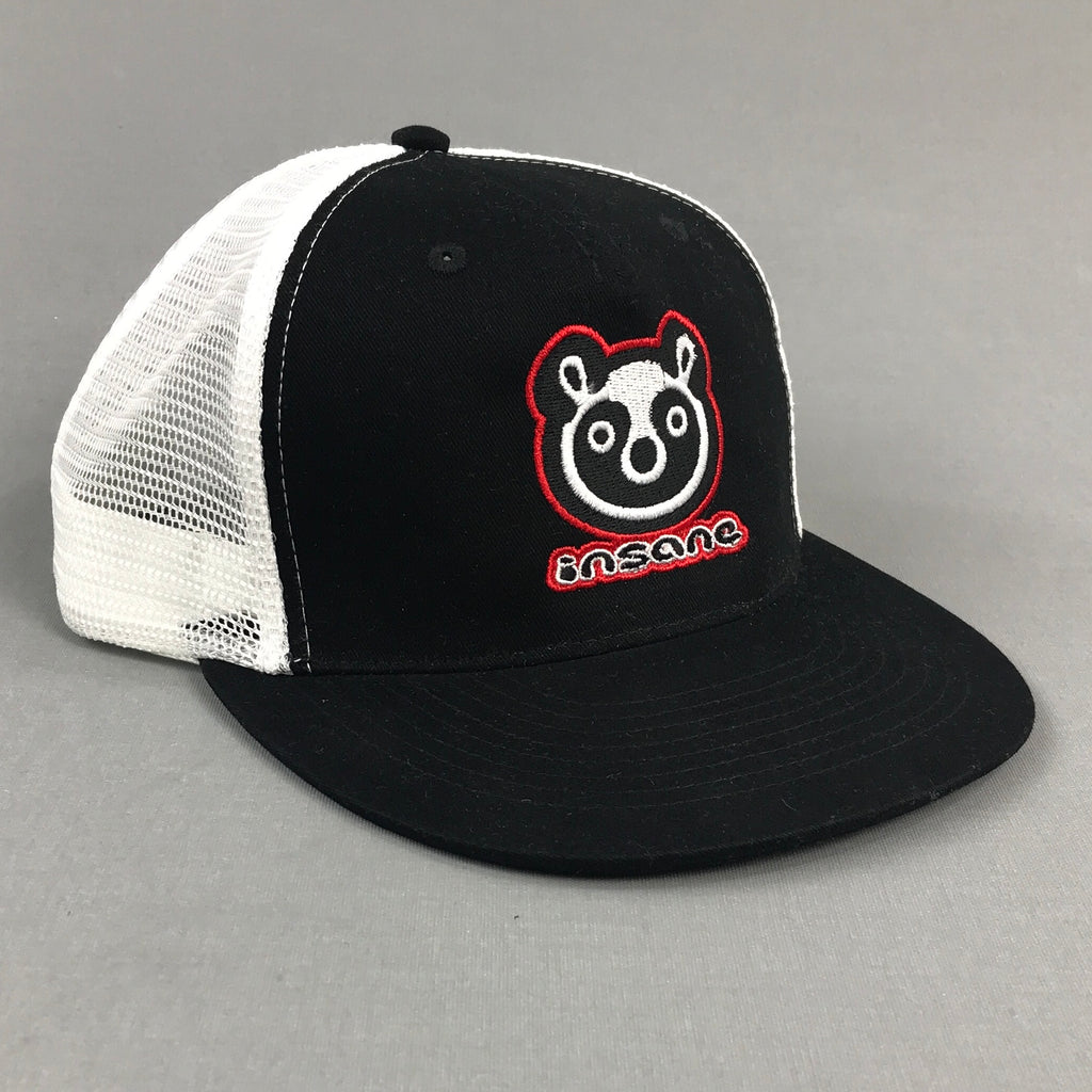 Insane Panda Black/White Mesh Cap