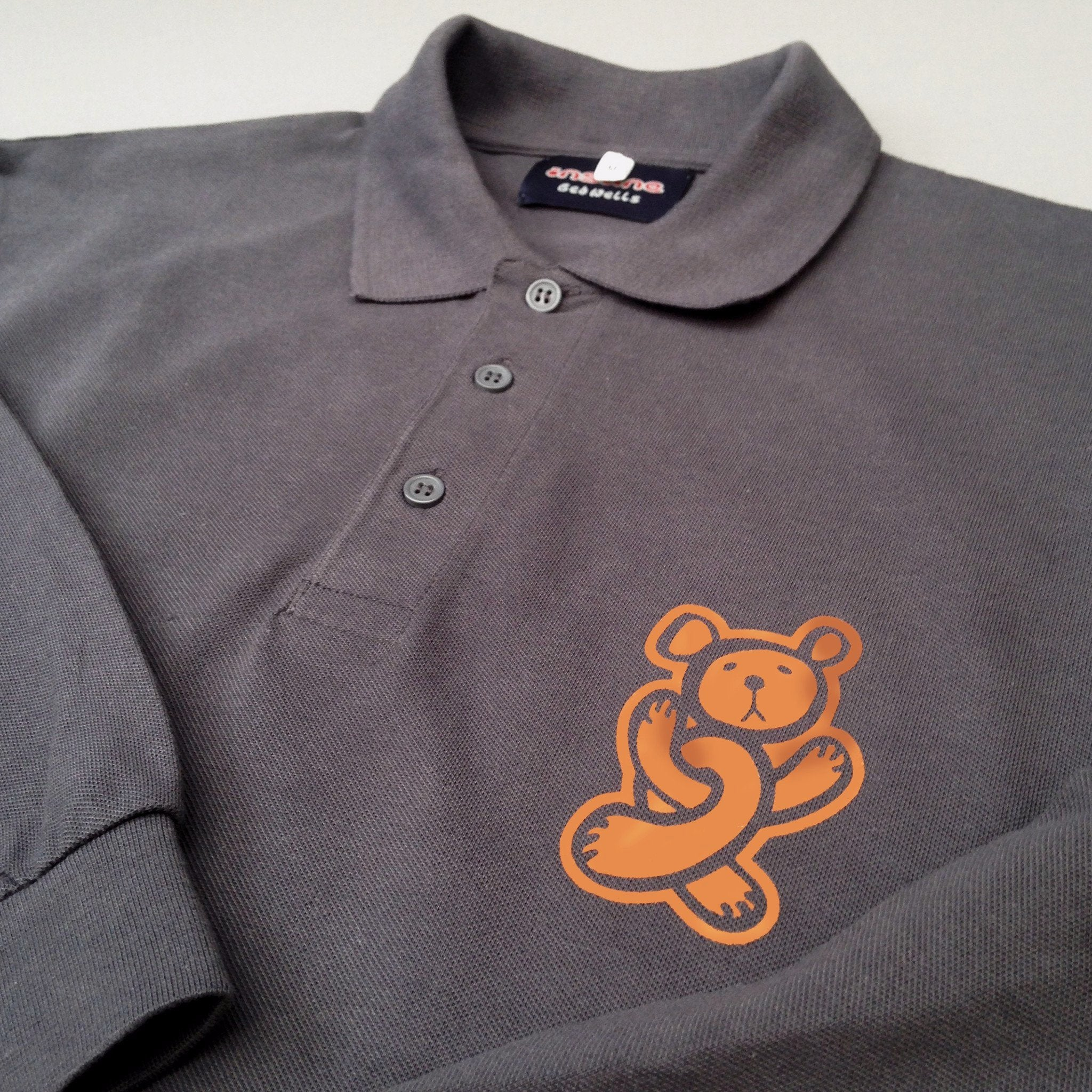 Twisted Teddy long sleeve Polo