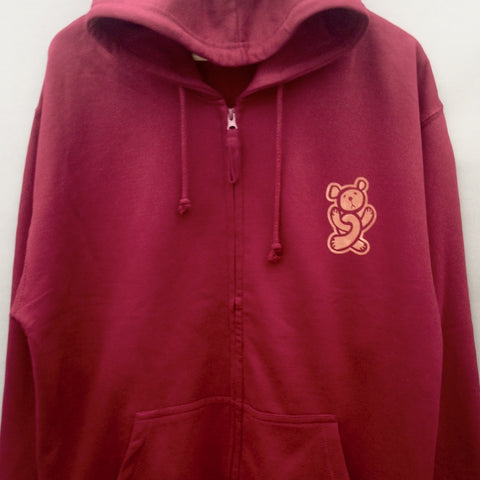 Twisted Teddy Zip Hood