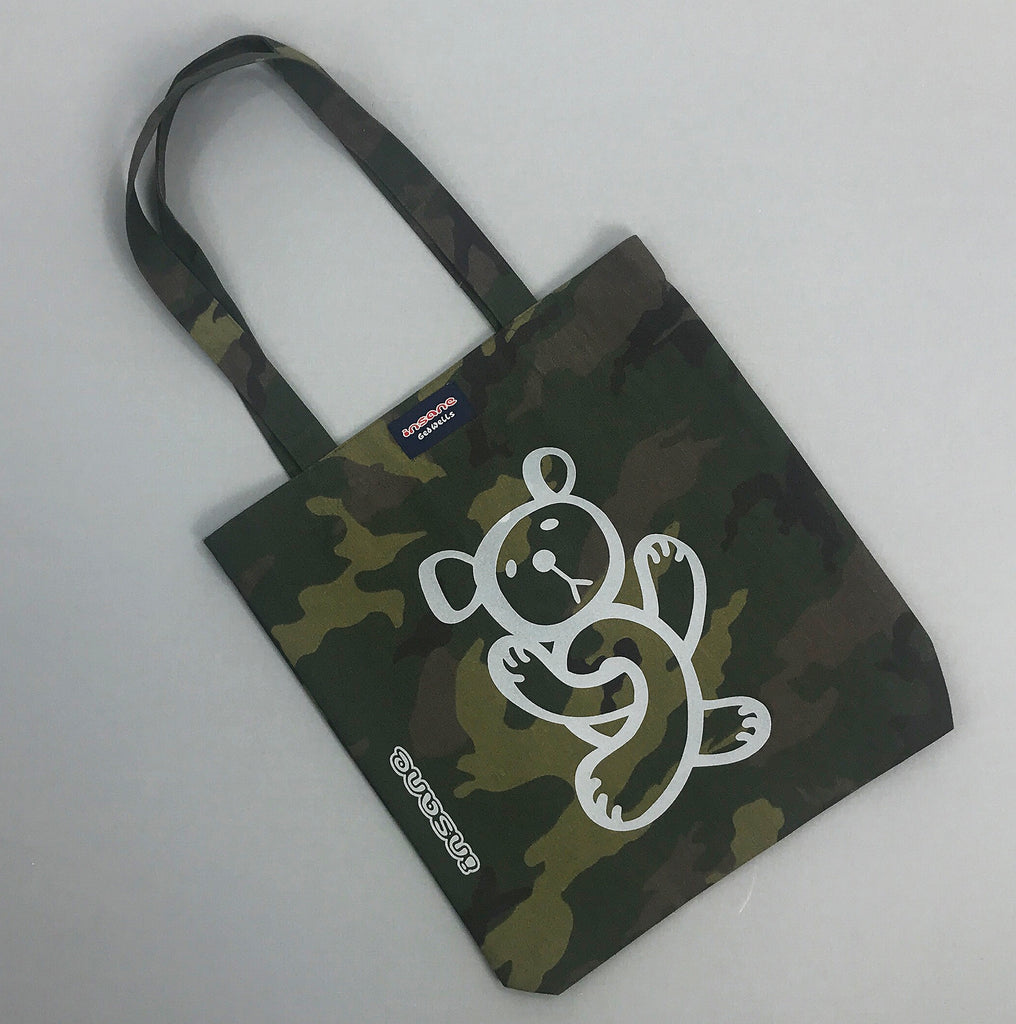 Twisted Teddy Camo Tote Bag