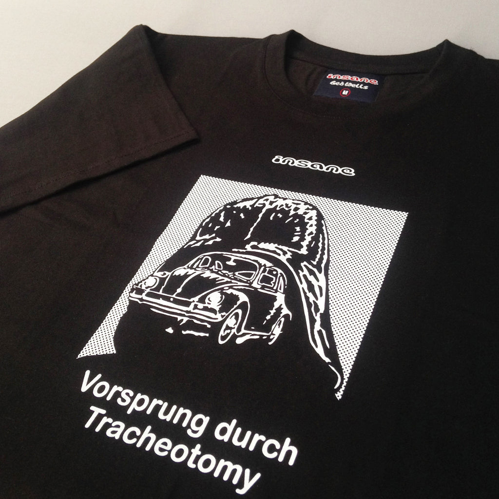 Insane Darth VW, Black T shirt.