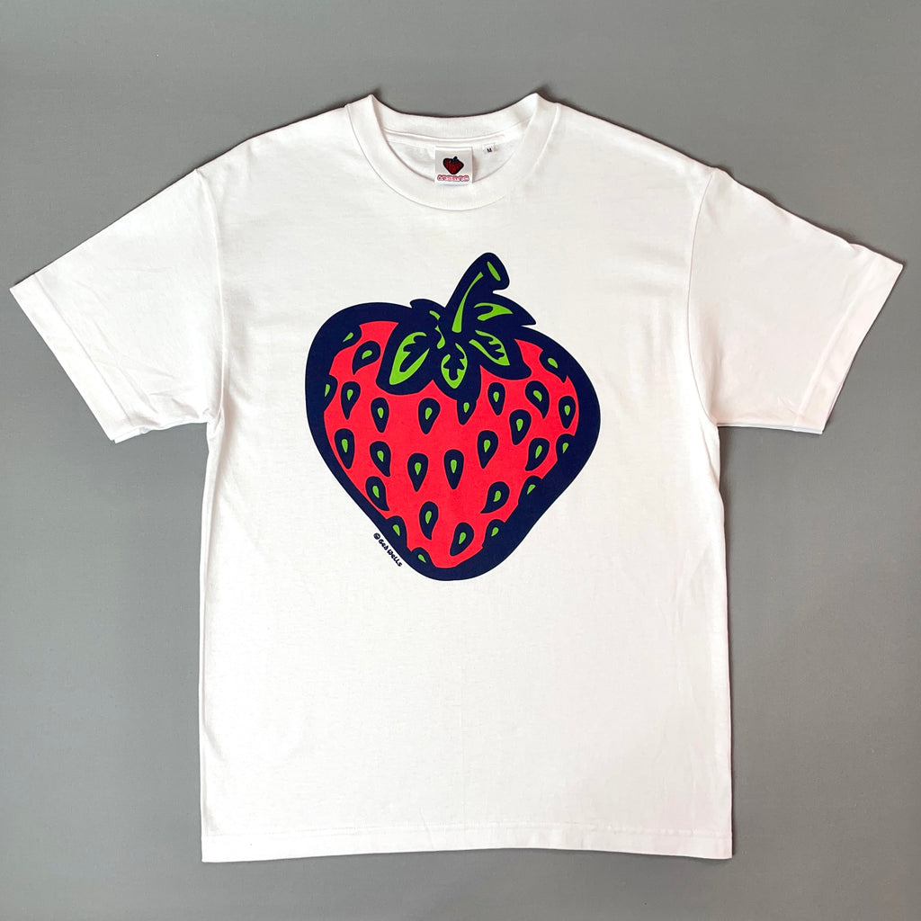 Insane Strawberry Edition White T-Shirt
