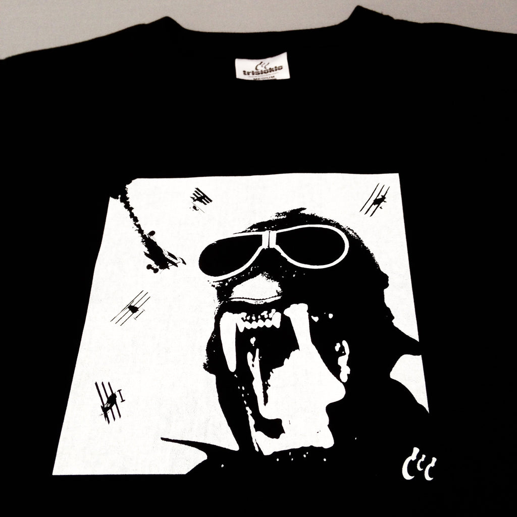 Trisickle 'Fang Pilot' T Shirt.