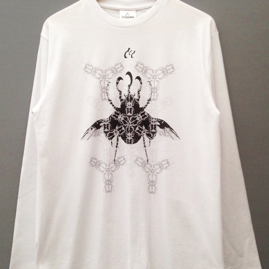 Trisickle 'Beetles' Long Sleeve T Shirt