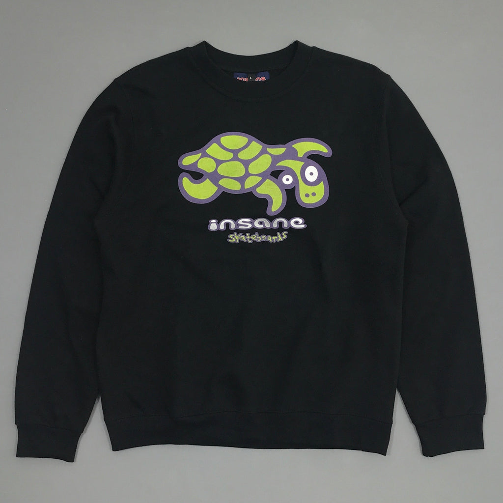 Turtle Black Crew Sweat