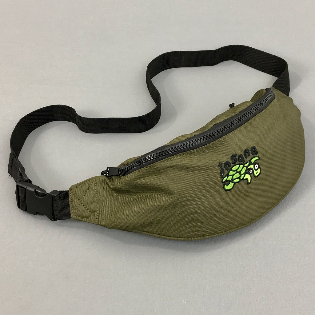 Insane Turtle Khaki Cross Bag