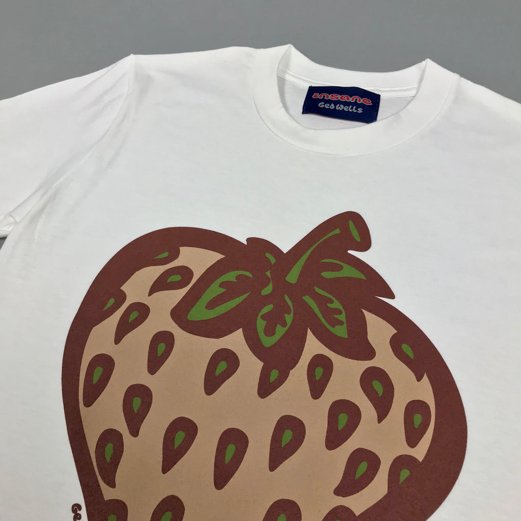 Insane Strawberry Field Camo White T shirt.