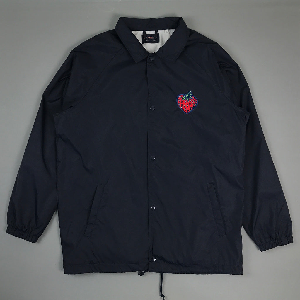 Insane Strawberry Navy Coach Jacket